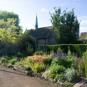 The cottage garden at St Mary's Convent