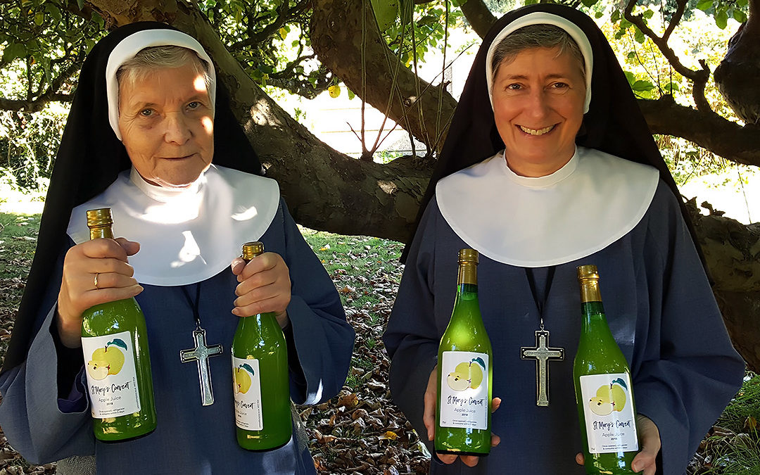 St Mary's Convent Apple Juice goes on sale
