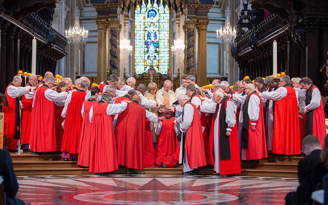 Bishop Olivia is consecrated