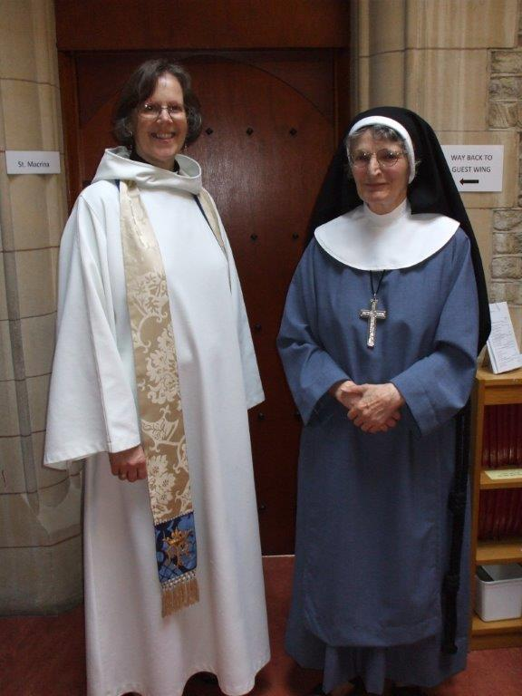 The Ve. Caroline baston & Sister Stella csmv