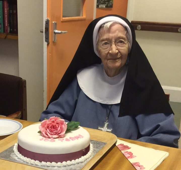 Sr. Catherine Naomi's 100th birthday celebration
