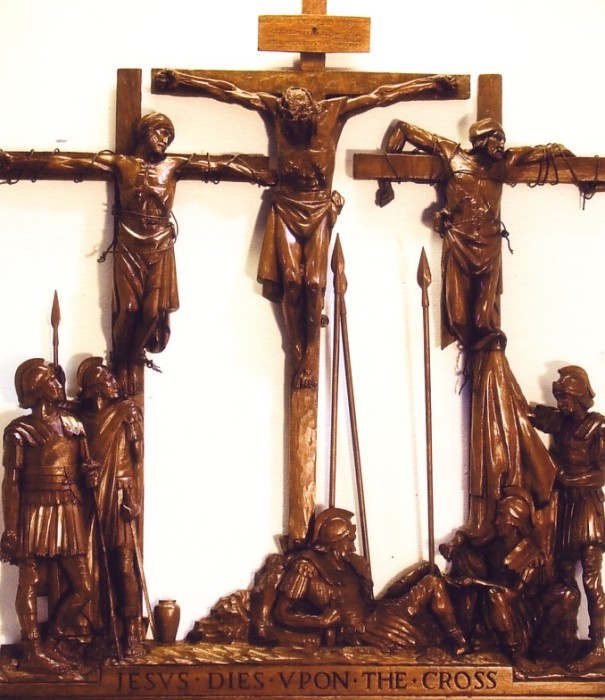 The Twelfth Station: Jesus dies upon the Cross